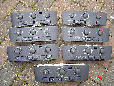 Volvo S40/v40 2000-2004 Heater Control Panel Various Selection Eec, Manual, Etc