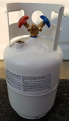 26.2 Lbs Air Conditioning AC Refrigerant Recovery Cylinder Tank Worthington DOT