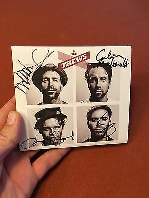 The Trews Autographed CD