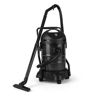 1200W Garden Pond Vacuum Cleaner Sludge Remover Water Fish Tank 30L Black/ Green