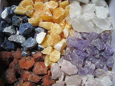 Water Raw Stones Gems 0.22 lbs -1000g/1kg Decoration, Stone Types or Mix