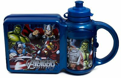 Marvel Avengers Box and 400ml Bottle Combo Set