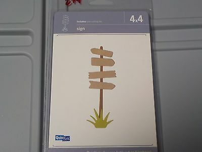 QUICKUTZ TREE WITH BIRD 4X4 CUTTING DIE REV-0182-D NEW A459
