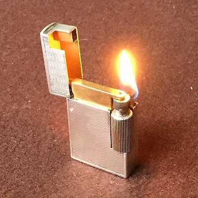 Briquet Essence Ancien LANCEL Petrol Lighter Fuel Feuerzeug