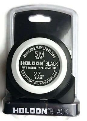 HOLDON BLACK Heavy Duty 5M Tape Measure
