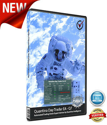 Quantina Day Trader EA Q7, NEW - automated trading forex robot and signal