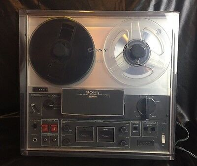 Vintage Sony Three Head Stereo Tapecorder TC-366 Solid State