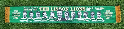 Celtic Football The Lisbon Lions 1967 50Th Anniversary Scarf