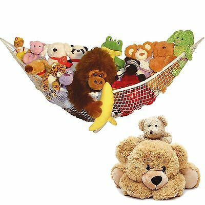 New Large Toy Soft Teddy Hammock Mesh Baby Childs Bedroom Tidy Storage Net