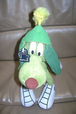 Marvin the Martian K-9 Dog  Bendable Applause Plush Toy Doll 1997 Warner Bros.
