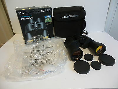 NEW MERCHSOURCE THE BLACK SERIES 7 x 50 MANGIFICATION BINOCULARS