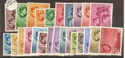 Seychelles 1938 Lightly Mounted MINT Set SG 135-149