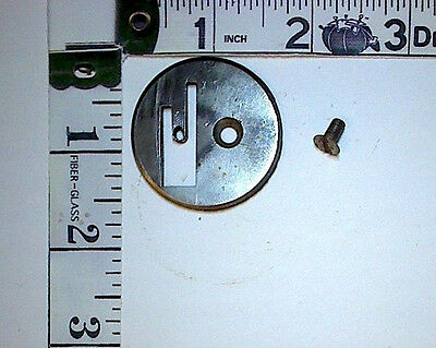 Peerless by White Sewing Machine Company OEM THROAT PLATE + SCREW PART ONLY