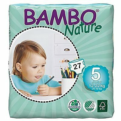 Bathing Skin Care Sale Bambo Nature Maxi Baby Diapers, Size 5 , 162