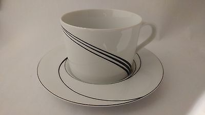 Block Spal Jewels White Pearl by Jack Prince Cup and Saucer Set (s)