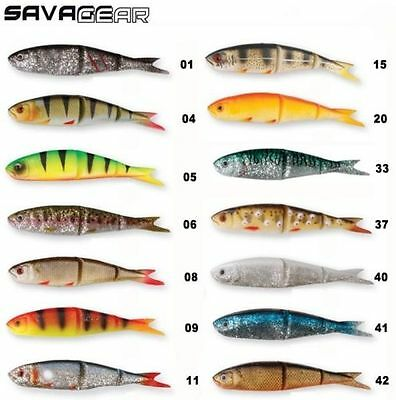 SAVAGE GEAR 4PLAY SOFT BODY LURES 9.5cm and 13cm  PIKE,ZANDER,PERCH,BASS FISHING