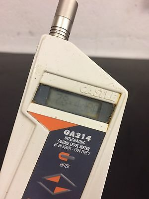 Castle GA214 - Type 2 Integrating Sound Level Meter Working Unit