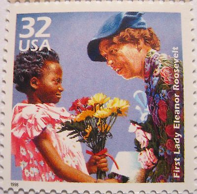First Lady Eleanor Roosevelt wife of FDR Scarce MNH Stamp Scott's 3185D