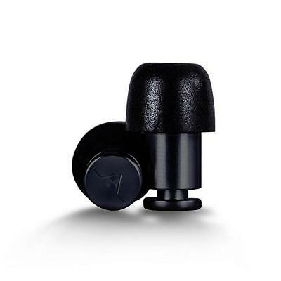 Isolate Black Aluminium Ear Plugs and Replacement Foam Tips from Flare