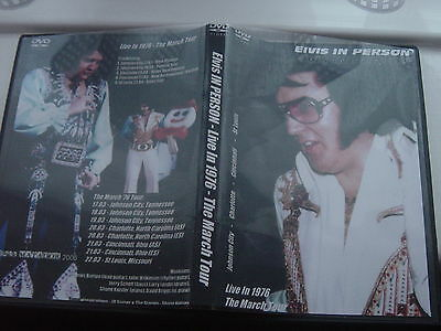 Elvis Presley Dvd- Elvis In Person Live In 1976 The March Tour 2 Dvd Set