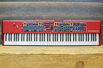 Nord Stage 2 EX 88-Note Hammer Action Keybed Electronic Keyboard / Synthesizer