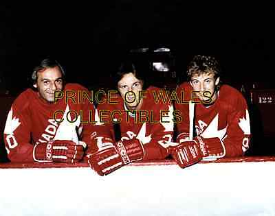 Guy Lafleur, Mike Bossy & Wayne Gretzky Photo 8X10