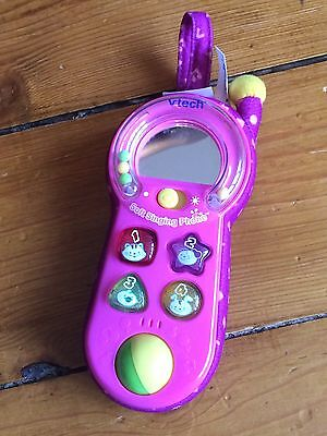V-Tech Pink Soft Singing Phone, Toddler Baby Educational Toy,