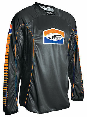 JT Racing USA™ Pro-Tour Black/Orange Jersey