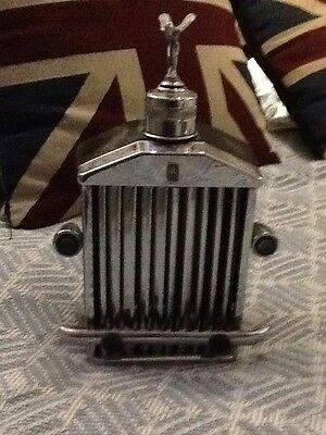Rolls-Royce musical Flask/Decanter With MASCOT Unboxed