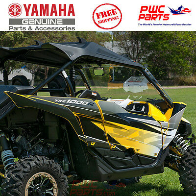 YAMAHA OEM Yellow 60th Graphic Kit by D'Cor 2016-2017 YXZ1000R YXZ-GRAPH-IC-YE