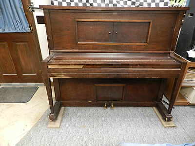 George B Norris Antique player piano