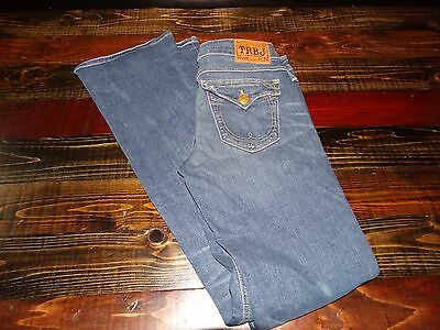 17492 ~  Womens TRUE RELIGION  TRBJ Denim Jeans ~ Ladies size 27- 34