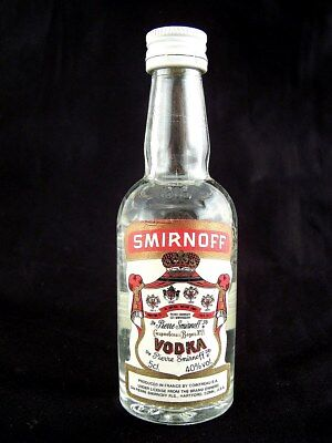Miniature circa 1984 SMIRNOFF VODKA Isle of Wine