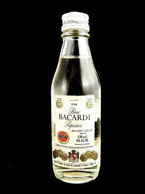 Miniature circa 1974 BACARDI RUM 46ml (Mexico) Isle of Wine