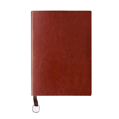 Leather Notebook,izBuy Lined Memo Retro Journal Vintage Diary Paint Edge Ribbon