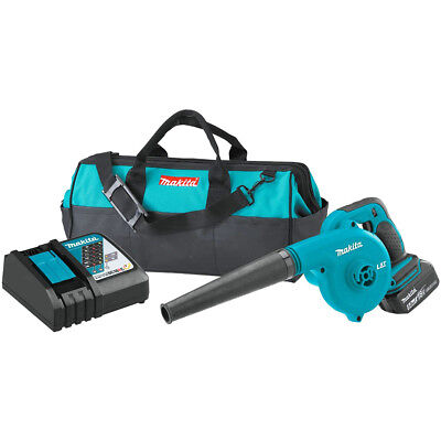 Makita DUB182T1 18-Volt 5.0 Ah LXT Lithium-Ion Cordless Electric Blower Kit