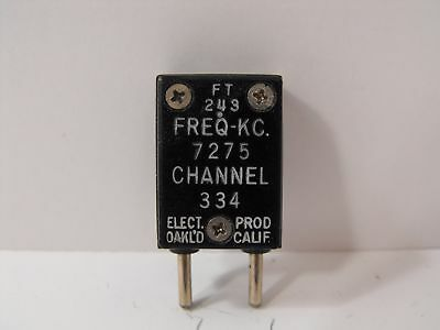 (1) Elect. Prod. 7275 KHz / 7.275 MHz FT-243 Crystal for 40 Meter Ham Radio