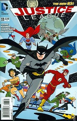 Justice League #33 Darwyn Cooke Variant NM