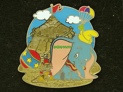 Disney Pin 2011 HKDL Mystery Pin Golden Beach Collection - Dumbo & Timothy