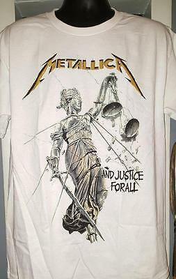"""METALLICA T-Shirt """"And Justice For All""""  Official/Licensed  S, M, L, XL, 2X  NEW"""