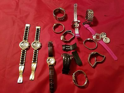 *reduced* Lot Of 13 Watches For Parts Or Repair