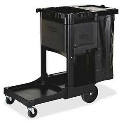 Rubbermaid 1861430 Executive Janitor Cleaning Cart