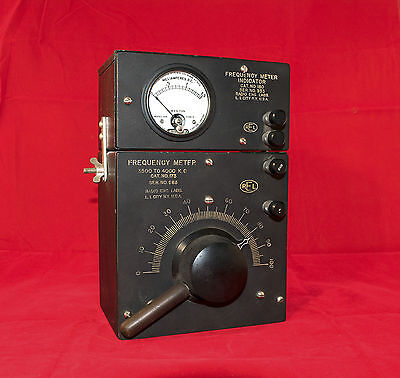 Excellent Radio Engineering Laboratories Frequency Meter 3500-4000 Kc Circa 1928