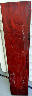 Andaman Padauk Wood 40x8.5x0.75 Boxmaking Cabinetry Guitar Building Book Cases