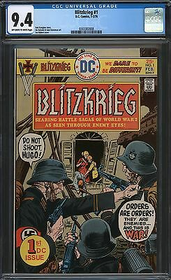 Blitzkrieg #1 Cgc 9.4 Ow/w Pages 1976