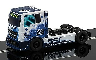 1/32 SCALEXTRIC C3610 Blue Racing Truck Slot Car