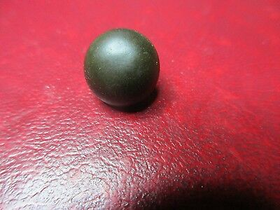 Militaria - Medieval Button - Wooden Core Covered In Bronze - 14mm