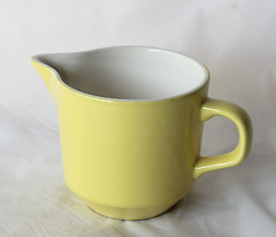 Vintage CROWN LYNN NZ Yellow Creamer Jug New Zealand Retro
