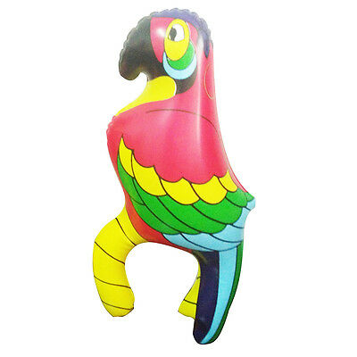Inflatable  Blowup Parrot Bird PIRATE PARTY Fancy Dress Costume Wedding Kids Toy