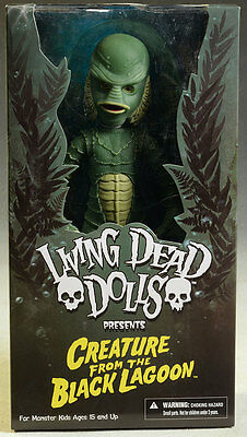 """LIVING DEAD DOLLS - Creature From The Black Lagoon 10"""" Action Figure (Mezco)"""